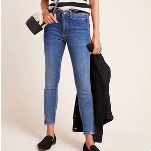 NWT ANTHROPOLOGIE Pilcro Manna High Rise Jeans